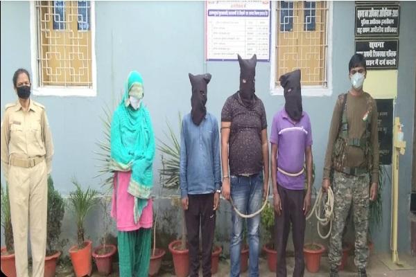 झारखंड: PLFI के एरिया कमांडर समेत 4 उग्रवादी गिरफ्तार, लेवी वसूलने की कर रहे थे तैयारी