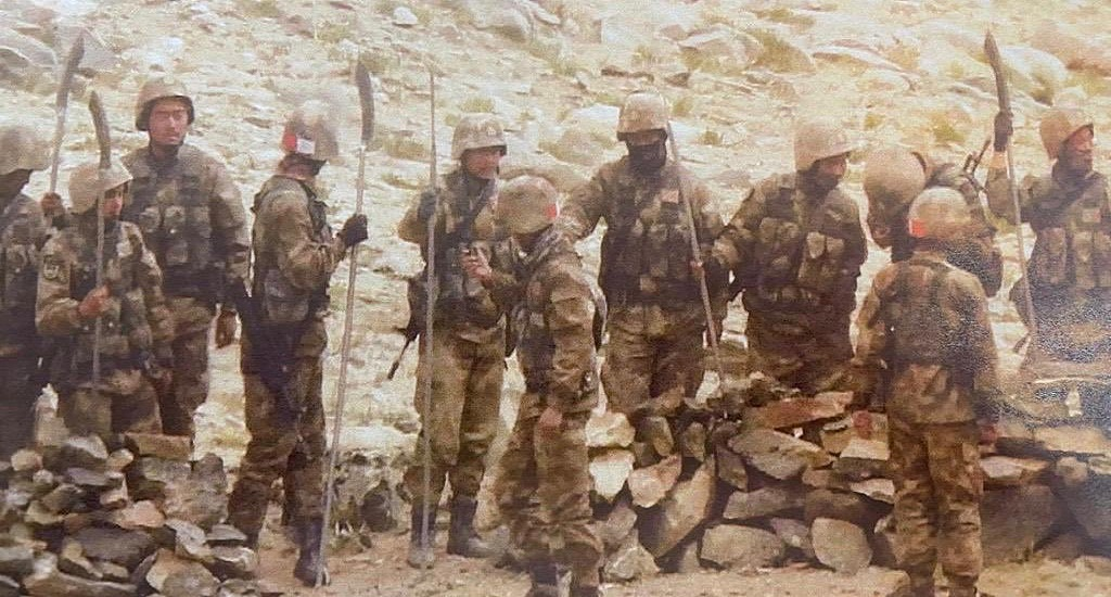 PLA Troops