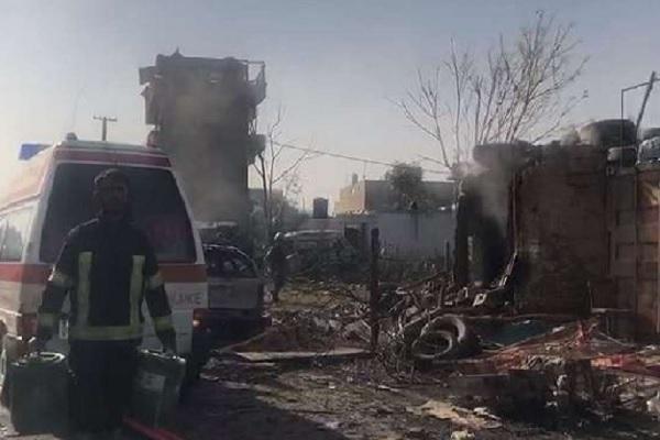 Kabul Bomb Blast: बम धमाके में बाल-बाल बचे उप राष्ट्रपति सालेह, 10 की मौत, कई घायल