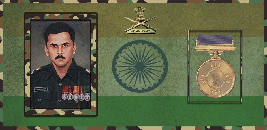 Major Ramaswamy Parameswaran मेजर रामास्वामी परमेश्वरन
