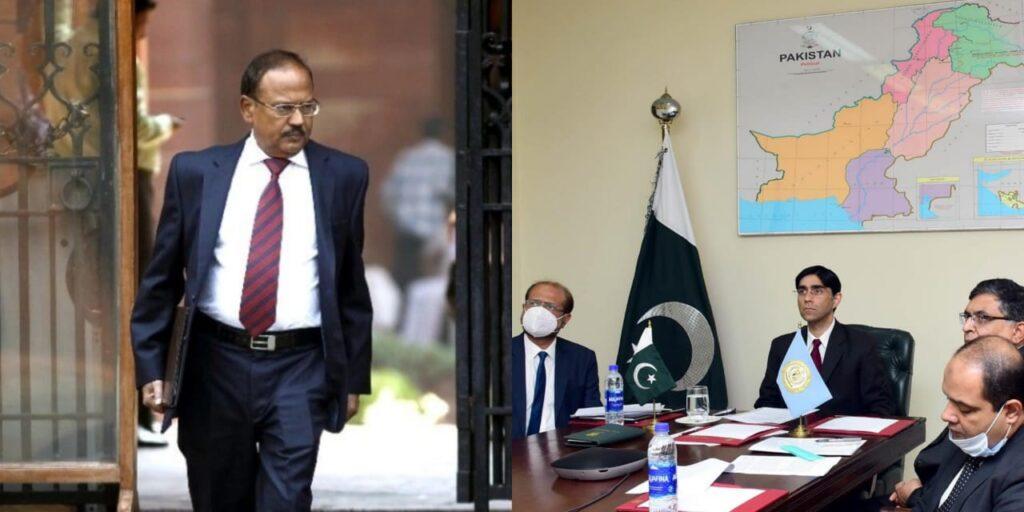 SCO की बैठक से भारत ने किया वॉकआउट, पाकिस्तान के दिखाये फर्जी नक्शे से नाराज हुये NSA डोभाल