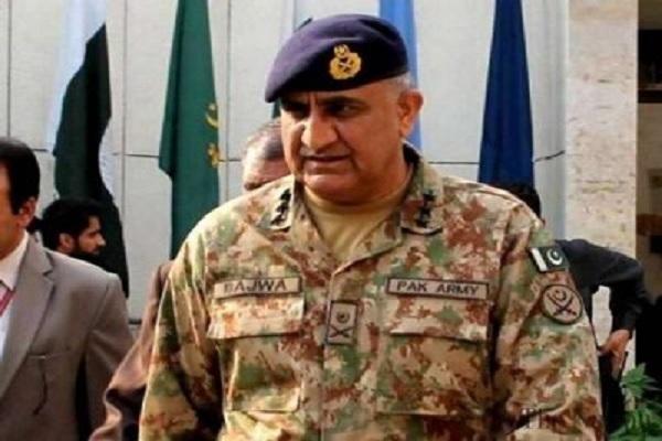 पाकिस्तानी सेना प्रमुख कमर जावेद बाजवा ने फिर अलापा कश्मीर का राग, दिया ये बयान