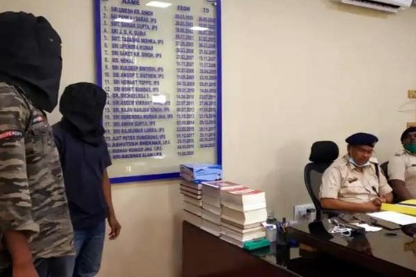 झारखंड: PLFI के 2 उग्रवादी गिरफ्तार, 10 लाख की लेवी वसूलने की कर रहे थे कोशिश