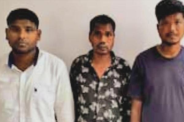 झारखंड: रांची पुलिस ने बचाई जमीन व्यापारी की जान, PLFI के 3 उग्रवादी गिरफ्तार