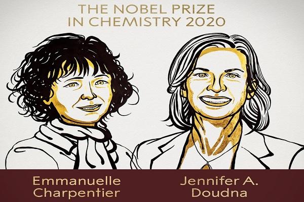 Nobel Prize 2020: इन 2 वैज्ञानिकों को मिला कैमिस्ट्री के लिए नोबेल पुरस्कार, यहां जानें नाम