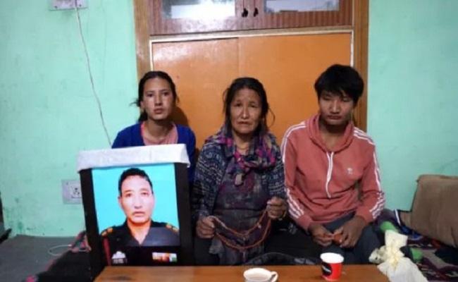 पैंगोंग झील इलाके में शहीद हो गए थे नीमा तेंजिन, नहीं पूरा हो सका बच्चों को हिमालय घुमाने का वादा