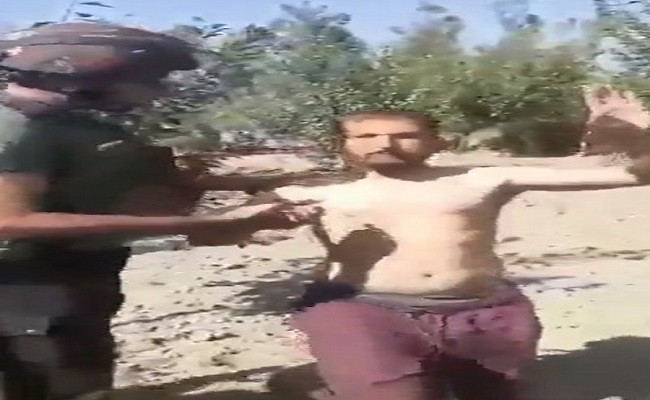 Terrorist Surrender Video