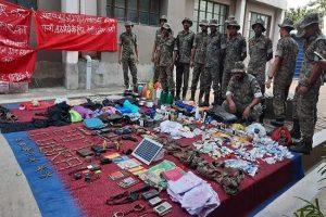 बिहार: जमुई में ऑपरेशन तेजस का कमाल, नक्सलियों के मंसूबे नाकाम, हथियार और गोला बारूद बरामद