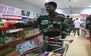 केंद्र सरकार का बड़ा फैसला, सेना की कैंटीन में अब नहीं मिलेगा विदेशी सामान