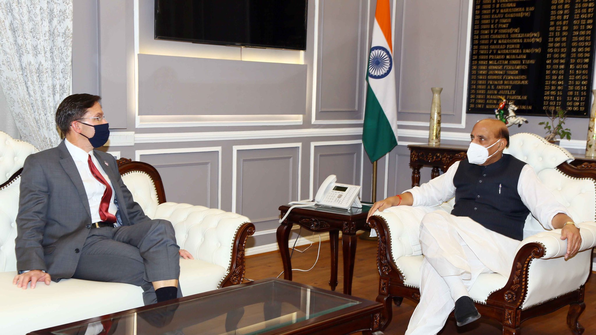 'टू प्लस टू वार्ता: भारत–अमेरिका के बीच सैन्य सहयोग बढ़ाने चर्चा, चीन की सैन्य आक्रामकता भी है मुख्य मुद्दा