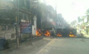 Bihar: मूर्ति विसर्जन की घटना को लेकर मुंगेर में फिर उपद्रव, हटाए गए डीएम और एसपी