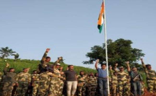 ओडिशा: नक्सल प्रभावित इस इलाके में पहली बार लहराया तिरंगा, अभी तक फहराया जाता था काला झंडा