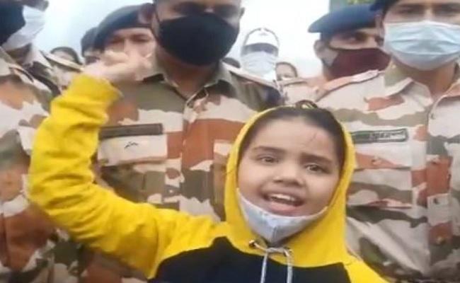 पाकिस्तान की ओर से हुई फायरिंग में शहीद हुए जवान की बेटी बोली- मैं भी पापा की तरह सेना में जाऊंगी