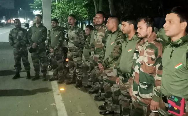 भारतीय सेना की वर्दी में एयरपोर्ट पर टहल रहे थे 11 लोग, नहीं दिखा पाए ID कार्ड, हुए गिरफ्तार