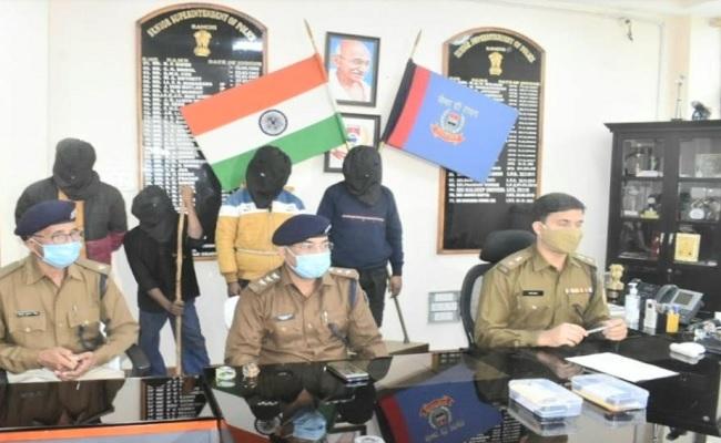 झारखंड: IMA सचिव शंभू सिंह से 20 लाख की रंगदारी मांगने के मामले में 4 लोग गिरफ्तार, PLFI ने झाड़ा पल्ला