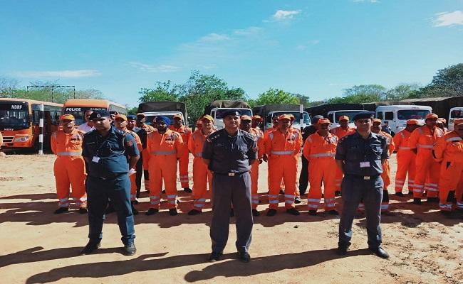 तमिलनाडु में चक्रवाती तूफान की चेतावनी के मद्देनजर NDRF की 6 टीमें तैनात, देखें तस्वीरें