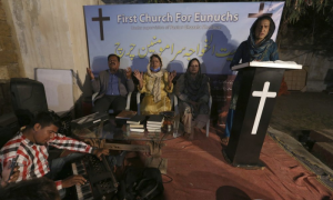 पाकिस्तान में सराहनीय कदम,  ट्रांसजेंडरों को मिला उनका पहला गिरजाघर