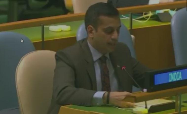संयुक्त राष्ट्र में भारत ने पाकिस्तान को फिर लताड़ा, 'आतंकवादियों को सीमा-पार से मिल रहे समर्थन पर जल्द लगे रोक'