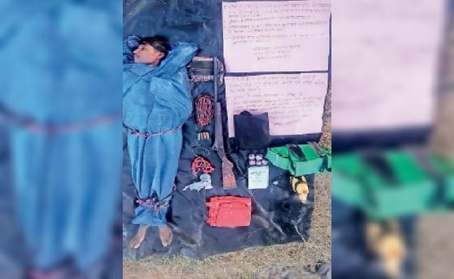 छत्तीसगढ़: सुरक्षाबलों से मुठभेड़ में नक्सली अर्जुन ढेर, कुछ दिन पहले बीजापुर में की थी 2 ग्रामीणों की हत्या