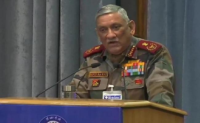 CDS बिपिन रावत बोले- अगर जंग हुई तो देसी हथियारों से दुश्मन को चटाएंगे धूल