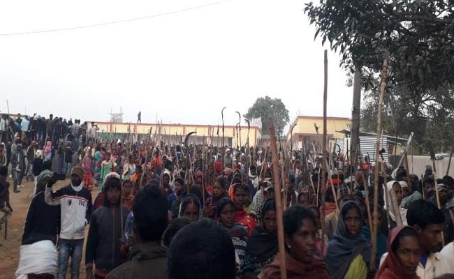 झारखंड: पुलिस पिकेट के निर्माण का ग्रामीण और आदिवासी कर रहे विरोध, अब सीएम से करेंगे बात