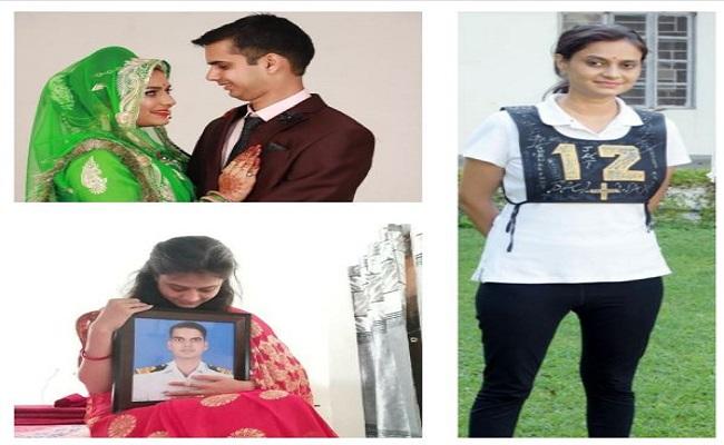 शादी के 40 दिन बाद ही शहीद हो गए थे पति, अब पत्नी बनेगी सेना में अफसर