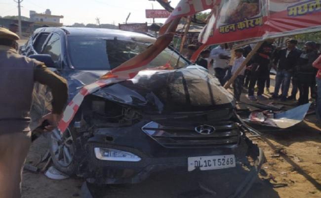 भारतीय क्रिकेट टीम के पूर्व कैप्टन की कार पलटी, परिवार के साथ जा रहे थे रणथंभौर