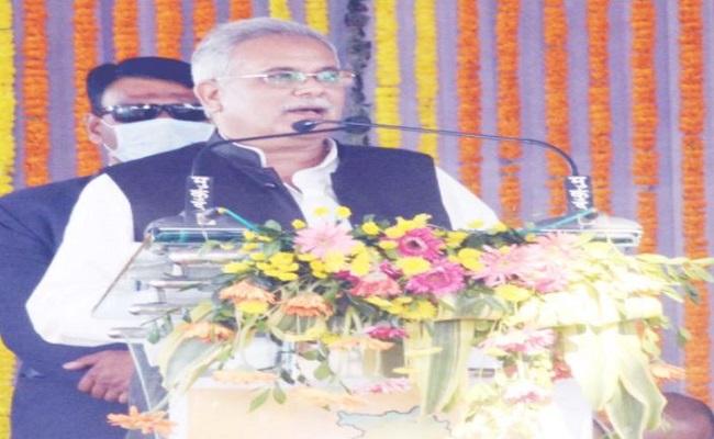 छत्तीसगढ़: मुख्यमंत्री भूपेश बघेल ने जांजगीर-चाम्पा जिले को दी 1083 करोड़ रुपये के 1255 विकास कार्यों की सौगात