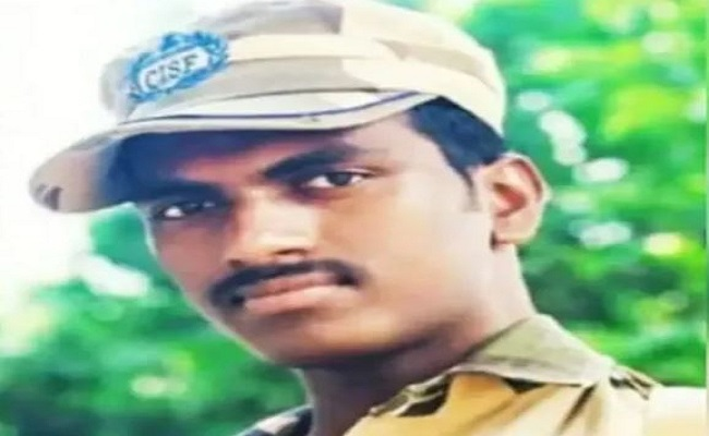 राजस्थान: CISF जवान ने की खुदकुशी, AK-47 राइफल से खुद को मारी गोली