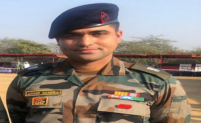 Major Anoop Mishra