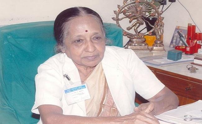 जानी-मानी कैंसर विशषज्ञ और 'पद्म विभूषण' डॉ. वी शांता का निधन, पीएम मोदी ने ट्वीट कर जताया शोक