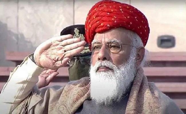 गणतंत्र दिवस पर पीएम मोदी ने पहनी खास पगड़ी, जानें इसकी खासियत