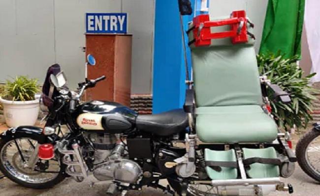 छत्तीसगढ़: नक्सल प्रभावित इलाकों में मरीजों को मदद पहुंचाने के लिए तैयार है बाइक एंबुलेंस, जानें खासियत