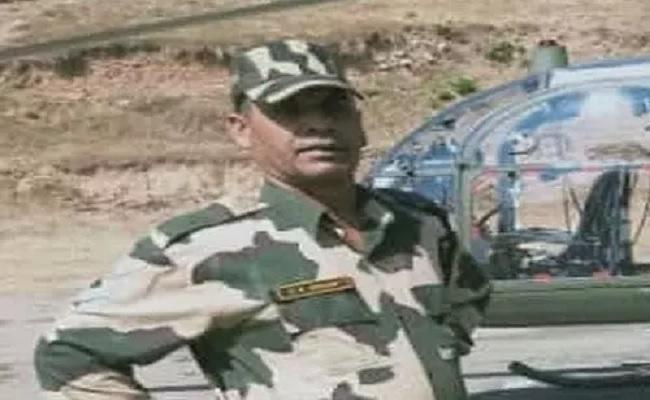 जम्मू-कश्मीर में शहीद हुए BSF के  हेड कांस्टेबल सतीश कुमार, बर्फीली चोटी पर कर रहे थे ड्यूटी