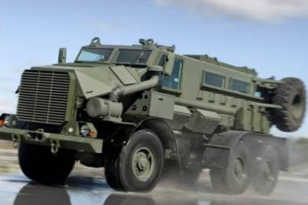 Medium Bullet Proof Vehicle