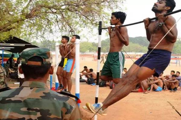 Indian Army Workout