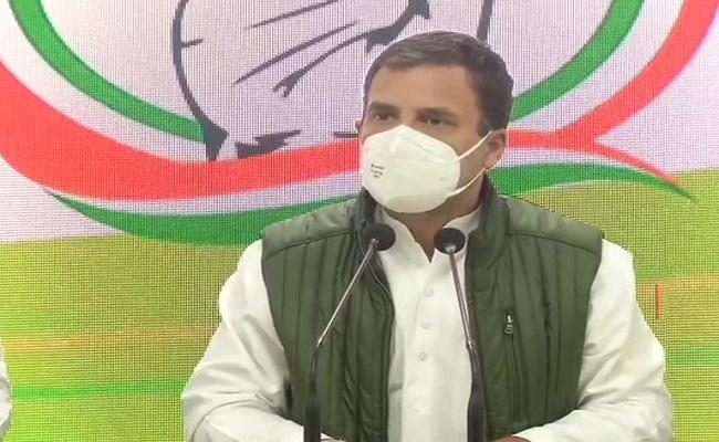 राहुल गांधी ने सरकार पर किया पलटवार, कहा- पीएम मोदी ने चीन के सामने माथा टेक दिया है
