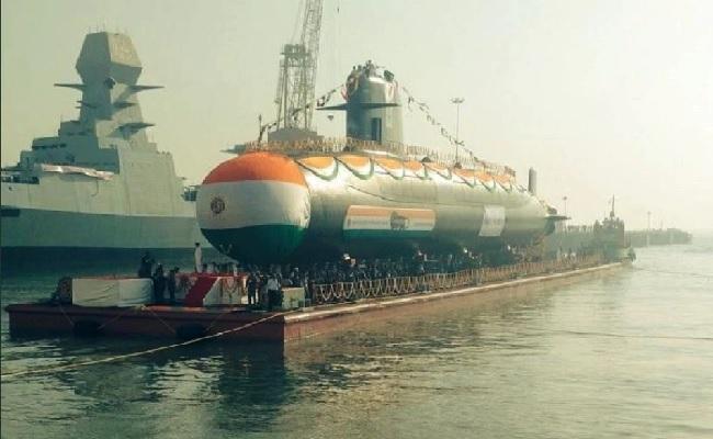 भारतीय नौसेना की ताकत में जबरदस्त बढ़ोतरी, मिली तीसरी स्कॉर्पीन पनडुब्बी करंज