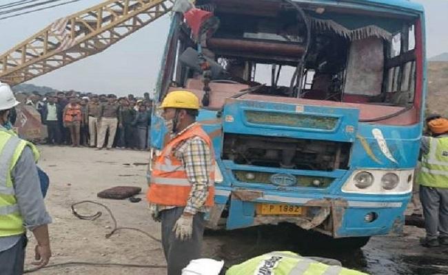 Sidhi Bus Accident