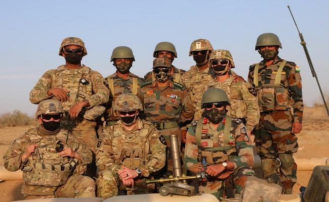 बीकानेर के महाजन फील्ड फायरिंग रेंज में भारत और अमेरिकी सैनिकों का शौर्य प्रदर्शन, देखें वीडियो