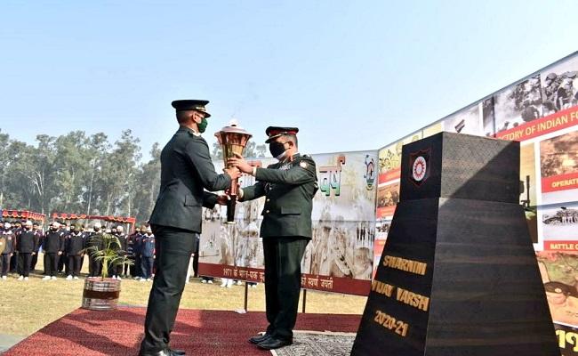 Swarnim Vijay Varsh: फरीदकोट पहुंची स्वर्णिम विजय मशाल, वीरों के सम्मान में आयोजित हुआ मिनी मैराथन; देखें PHOTOS