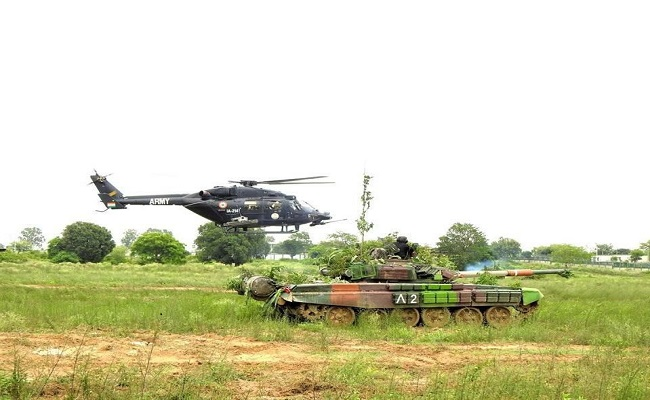 Rudra Light Combat Helicopter