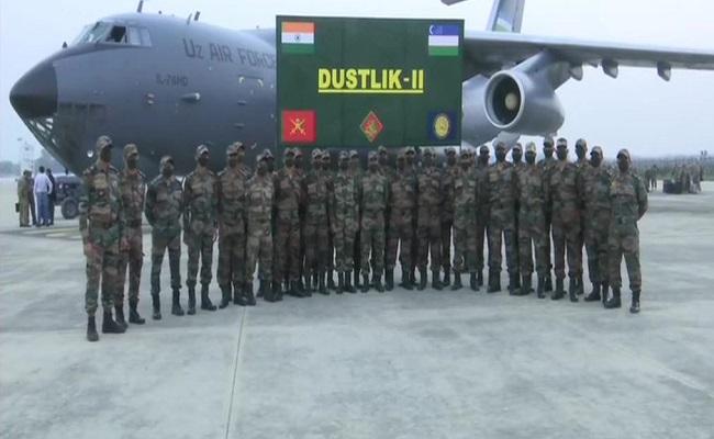 उज्बेक सेना पहुंची नई दिल्ली, लेगी भारत-उज्बेकिस्तान संयुक्त सैन्य अभ्यास 'डस्टलिक II' में हिस्सा; देखें PHOTOS