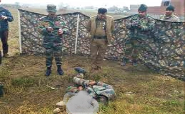 Soldier found Dead