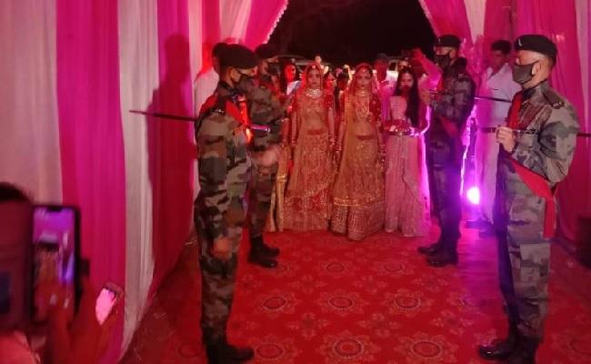राजस्थान: शहीद सनवरमल भामू की बेटियों की शादी में पहुंचे सेना के कई बड़े अफसर, महसूस नहीं होने दी पिता की कमी