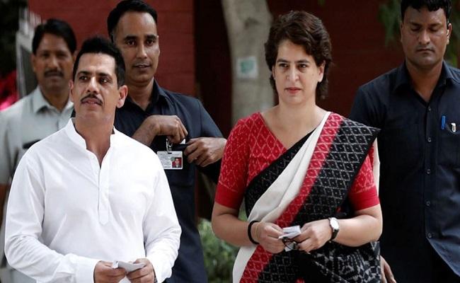 प्रियंका गांधी ने खुद को किया आइसोलेट, पति रॉबर्ट वाड्रा हुए कोरोना पॉजिटिव
