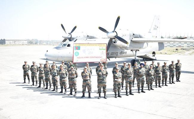 SHANTIR OGROSHENA 2021: बांग्लादेश, भूटान और श्रीलंका की सेनाओं के साथ सैन्य अभ्यास में भाग लेगी Indian Army