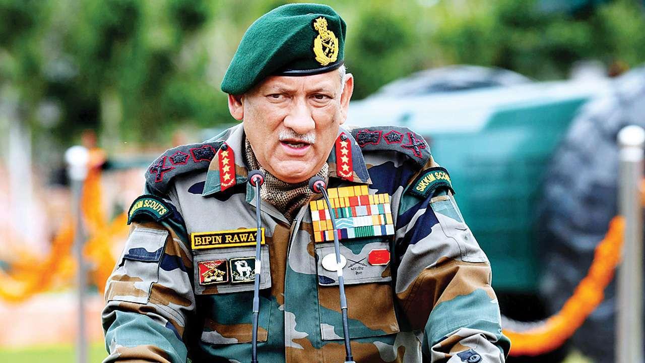भारत-चीन विवाद पर जनरल रावत की दो टूक, 'चीन ने सोचा कि वह थोड़ी ताकत दिखाकर अपनी मनमानी कर लेगा'
