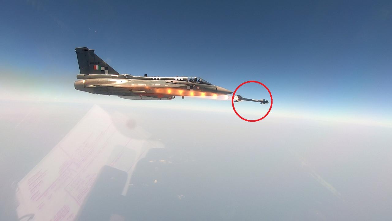 DRDO test Python Missile