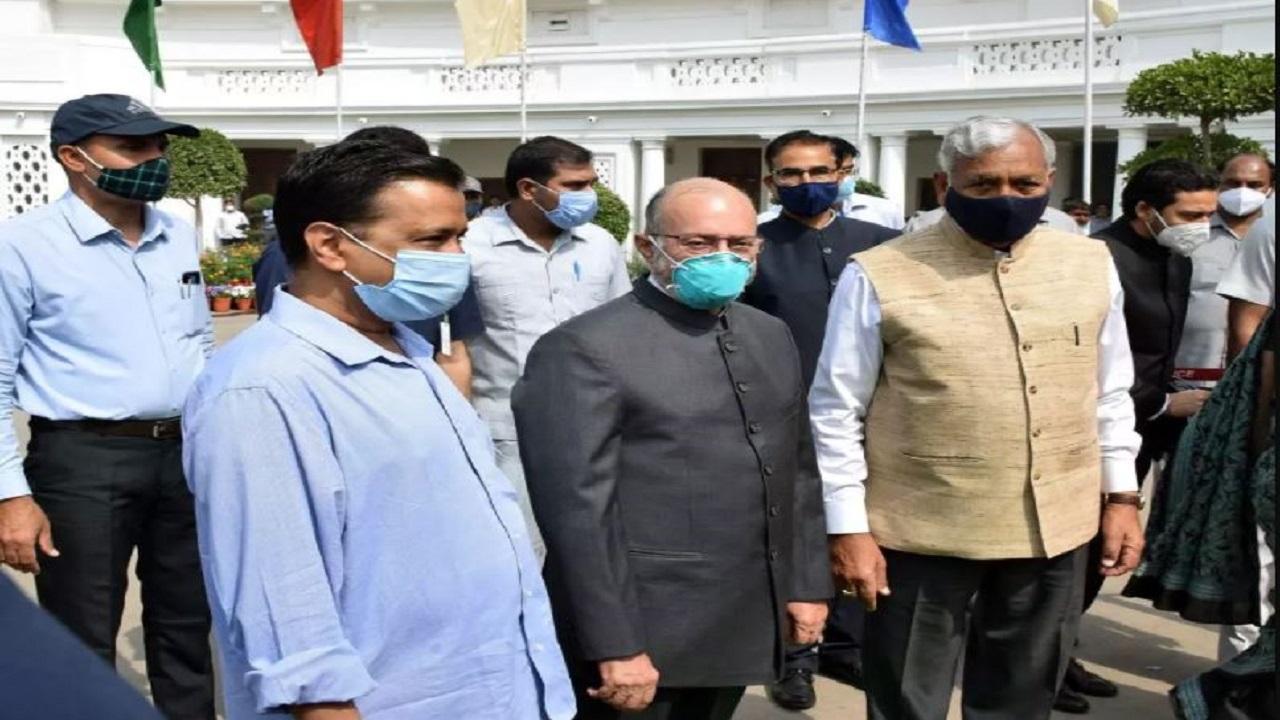 केंद्र सरकार ने कतरे अरविंद केजरीवाल सरकार के पर, अब उप–राज्यपाल बने दिल्ली के नये बॉस